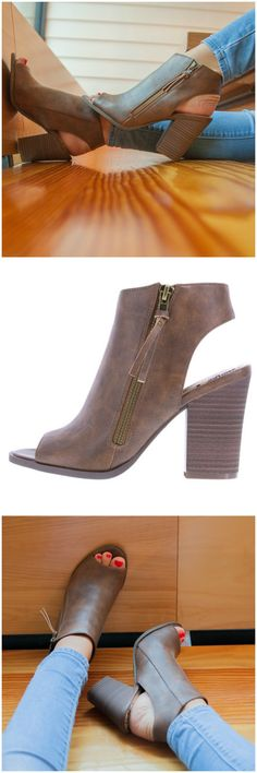 Paired perfectly with skinny jeans or a casual dress, the Rascall Bootie is perfect for any pre-fall look!
