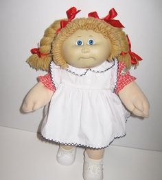 1985 Cabbage Patch Doll by asterdaisy on Etsy, $24.00