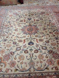 Persian rug. Heris Rugs On Carpet, Carpets, Oriental Rugs, Persian Rug, Kilim Rugs, Bohemian Rug, Art, Rugs, Carpet