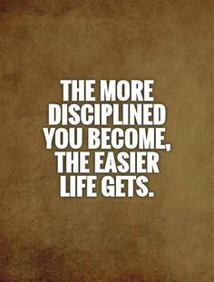Best discipline quotes about life, Quotes about discipline to achieve success in your life, here we have 50 motivational discipline quotes with pictures Motivacional Quotes, Wisdom Quotes, Quotes To Live By, Life Quotes, Contentment Quotes, Funny Quotes, Discipline Quotes, Self Discipline, The Words