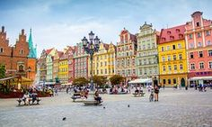 Old Market Square in the Old Town. Wrocław. Photograph: Alamy