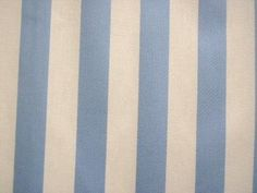 "Awning Stripe- Awning stripes are the widest sized stripes that can be found on shirts. These vertical and even stripes are often wider than ¼"" and usually consist of solid colored stripes on white (Alexander West)"