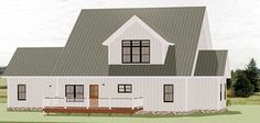 Charming Farmhouse House Plan with Expansion Possibilities - 46324LA thumb - 02