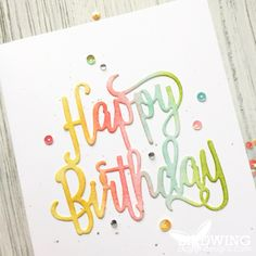Birthday Cards – Birdwing Paper Designs, Stampin' Up! Cricut Birthday Cards, Simple Birthday Cards, Birthday Cards For Boys, Cricut Cards, Handmade Birthday Cards, Handmade Cards, Happy Birthday Ecard, Birthday Bash, Birthday Gifts