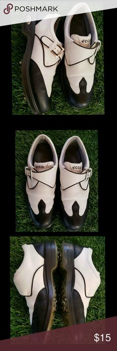 Womens ecco golf shoes Cute leather vintage Ecco womens golf shoes. Good condition,  European size 38, USA size: 7 1/2 - 8 ecco Shoes