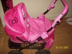 Hello Kitty Stuff for Sale | HELLO KITTY PRAM, and tray BAG COVER ADJUSTABLE 15 Leeds: 15, BABY BAG ...