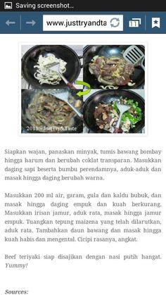 Beef Teriyaki (part 3)
