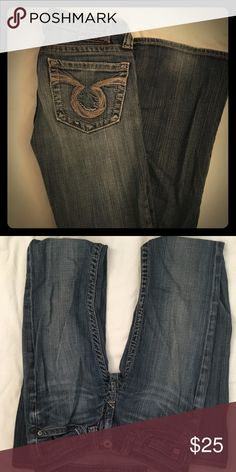 Big Star Jeans Gently worn, but in great condition! Open to offers! Big Star Jeans Boot Cut