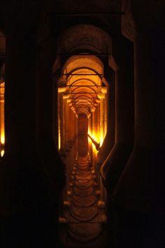 Palacios subterranios en Istanbul