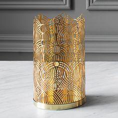 Skultuna Lunar candleholder, large, brass   Skultuna The London collection   Candleholders   Decoration   Finnish Design Shop
