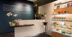 Aveda Lifestyle salon & Spa, Russell Eaton - Leeds, UK | Reis Design