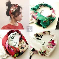 Cheap bandana hairband, Buy Quality hair accessories directly from China hair band Suppliers: Women Girls Summer Bohemian Hair Bands Print Headbands Retro Cross Turban Bandage Bandanas HairBands Hair Accessories Headwrap Elastic Headbands, Headbands For Women, Bandana Headbands, Bohemian Hairstyles, Trendy Hairstyles, Trendy Accessories, Hair Accessories For Women, Fashion Accessories, Hair Band For Girl