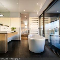 Badezimmer en suite Penthouse