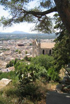 View of Palma with Royal Palace