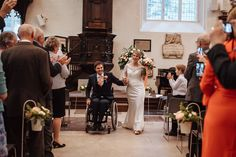 Aisle - shepherds crook and galvanised buckets. Flowers by Eileen Ting Church flowers Photo courtesy of Wheels & Co Photography Church Wedding Flowers, Historical Architecture, Bridesmaid Dresses, Wedding Dresses, London City, Autumnal, Buckets, Beautiful Flowers, Wheels