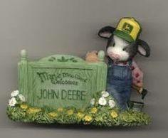 Mary's Moo Moos Welcome JOHN DEERE