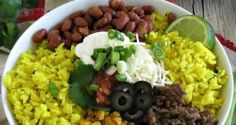 Deconstructed Burrito Bowls - A TexMex dinner for any night of the week! Entree Recipes, Pork Recipes, Easy Dinner Recipes, Slow Cooker Recipes, Asian Recipes, Mexican Food Recipes, Easy Dinners, Delicious Recipes, Burrito Bowls