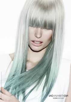 Get amazing two-toned #hair with milk_shake direct colour! #fashion #style