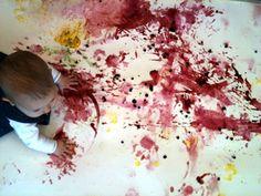 vauvan värikylpy Marika Kaipainen