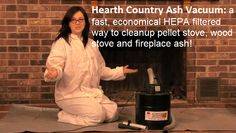Clean ash from your fireplace or wood stove virtually dust free with the Hearth Country Ash Vac. http://northlineexpressblog.com/?p=1105