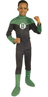 Justice League Green Lantern Costume Child Large 10 12 | eBay