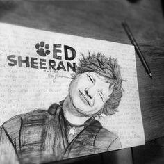 ed sheeran draw :)