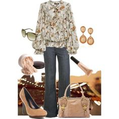 Boho ~} Love the outfit, the accessories...not so much. {~