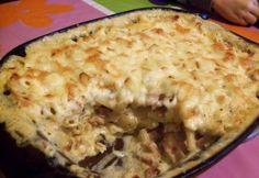 Háromsajtos tészta baconnel Macaroni And Cheese, Crockpot, Slow Cooker, Bacon, Ethnic Recipes, Main Courses, Freezer, Food, Lasagna