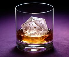 Create some geek-tastic drinks when you prepare them using the critical hit d20 ice mold. The critical hit ice mold is made from dishwasher and oven safe...