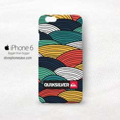 Quiksilver Rainbow Pattern iPhone 6 6S Cover Case