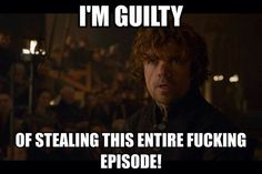 Tyrion Lannister: guilty