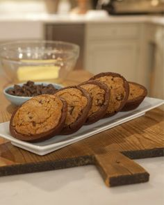 Brookie ...Can't decide between brownies or cookies? You can have them both with this chewy, chocolatey treat.   - Martha Stewart Recipes