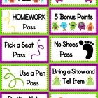 Fun and FREE monster-themed coupons to reward your students for positive behavior :). This title is also included in my Monster-Themed Classroom M...