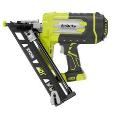 Ryobi ONE  18-Volt 15-Gauge AirStrike Cordless Angled Nailer (Tool-Only)-P330 - The Home Depot