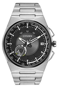 Shop authorized Citizen watch retailer - manufacturer warranty and Tourneau warranty. Variety of models including Drive , Eco-Drive & Signature. Big Watches, Luxury Watches, Cool Watches, Rolex Watches, Watches For Men, Wrist Watches, Smartwatch, Citizen Titanium Watch, Citizen Dive Watch