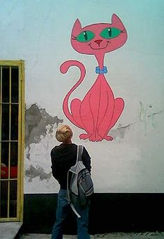 queridos-gatos: Graffitis