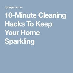 These cleaning hacks will forever change the way you clean your house! Nothing feels as good as tidying up minus the stress! Tidy Up, Cleaning Hacks, Stress, Sparkle, Diy Projects, Feelings, Handyman Projects, Handmade Crafts, Psychological Stress