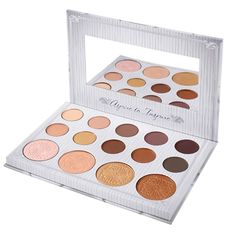 Glow Eye Shadow Palette Type: Bronzer & Highlighter Benefit: Long-lasting, Easy to Wear, Whitening, Oil-control, Concealer NOTE: Please allow 2-3 weeks delivery due to popularity.