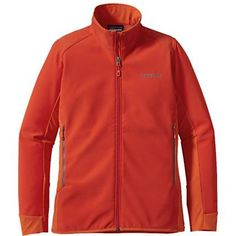 Patagonia Womens Adze Hybrid Jacket. Turkish Red