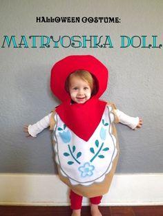 Matryoshka Doll Costume from Petitjoy.com! #diy #halloween