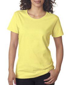 5000L Gildan Heavy Cotton™ Ladies' T-Shirt Cornsilk