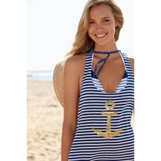 Sperry Top-Sider Women's Maiden Voyage Cover Up- cute would loooooovvvveeee if the amchor was silver