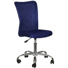 Desk Chair, Multiple Colors in Blue