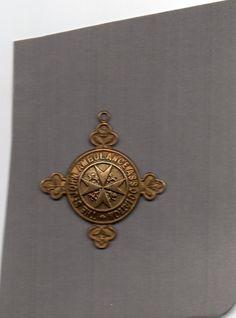 St Johns Ambulance Medal A19971 Lillian Trotman vintage 1930 s