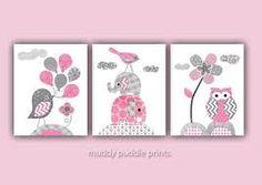 Bildergebnis für babyzimmer grau rosa