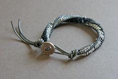 DIY Chan Luu Spiral Bracelet Tutorial