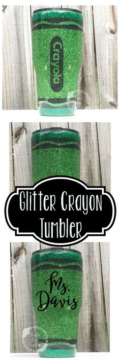 Teacher Gifts – 10 Teacher Gift Ideas – Gift Ideas Anywhere Glitter Projects, Glitter Crafts, Glitter Paint, Glitter Decorations, Glitter Glasses, Glitter Cups, Diy Tumblers, Custom Tumblers, Vinyl Crafts