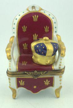 http://www.ebay.com/itm/Limoges-France-Peint-Main-Hinged-Royal-Chair-Crown-Trinket-Box-/291569998210?hash=item43e2ed1982