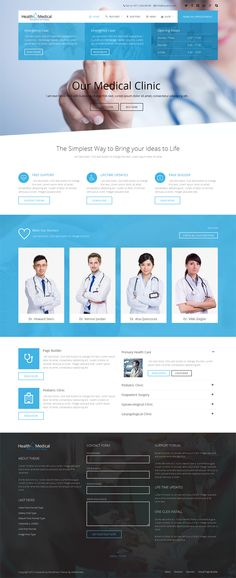 22+ Responsive Health Medical WordPress Themes