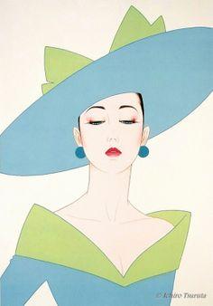 Green Hat by Ichiro Tsuruta.